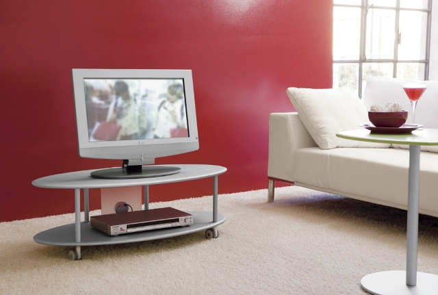 Bertoli Valentino s.r.l. - 714003 RELAX - Carrello porta TV su Ruote ...